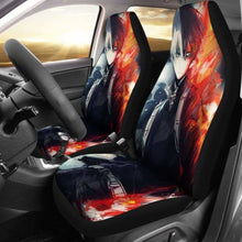 Load image into Gallery viewer, Shouto Todoroki Car Seat Covers 1 Universal Fit 051012 - CarInspirations