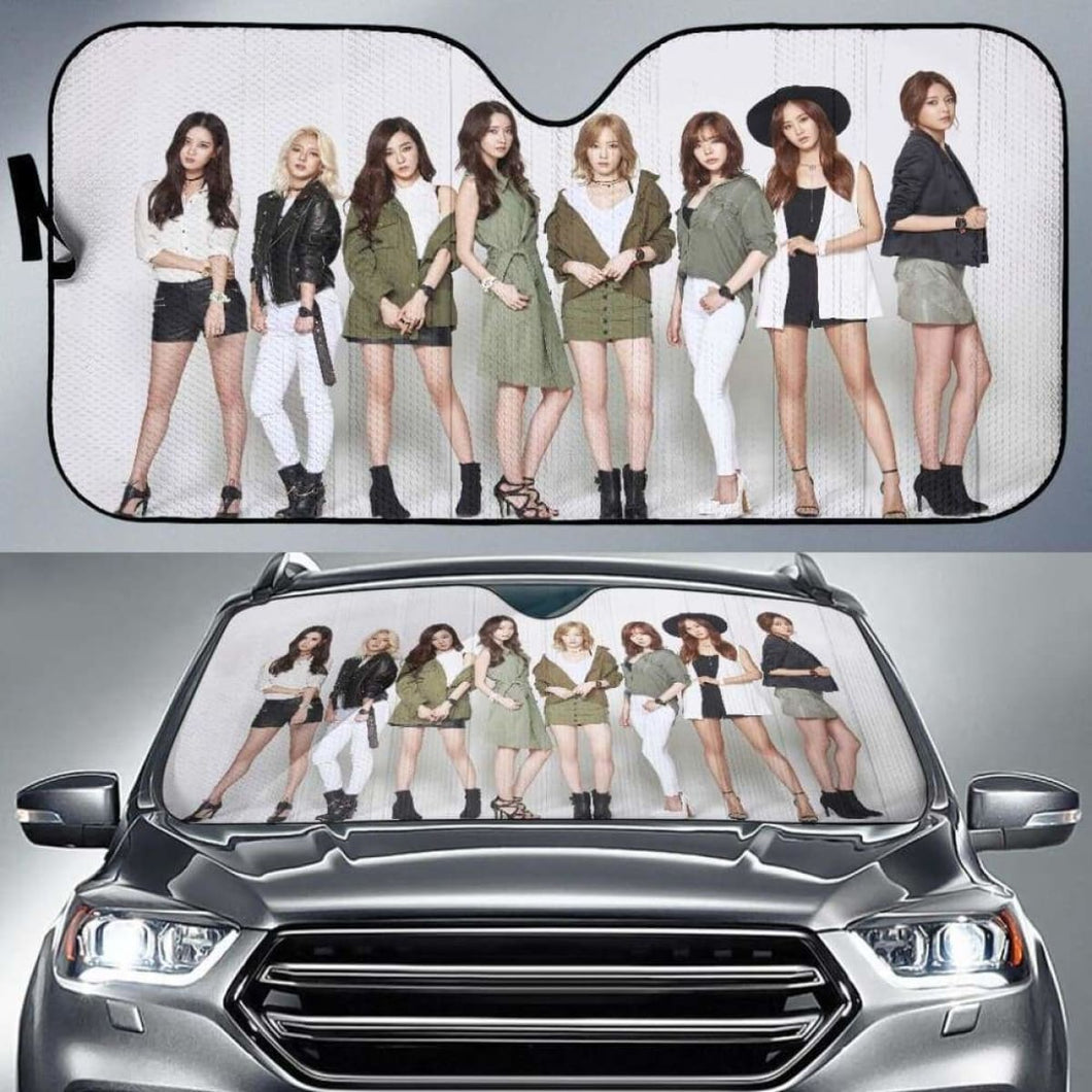 SNSD Car Sun Shades 918b Universal Fit - CarInspirations