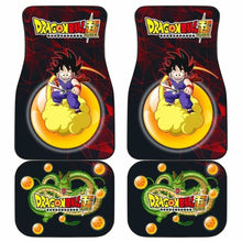 Load image into Gallery viewer, Son Goku Kintokun Anime Dragon Ball Car Floor Mats Universal Fit 051012 - CarInspirations