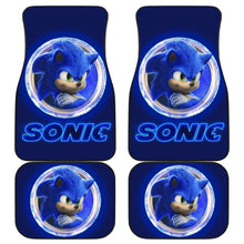 Load image into Gallery viewer, Sonic Car Floor Mats Sonic The Hedgehog Movie H040220 Universal Fit 225311 - CarInspirations