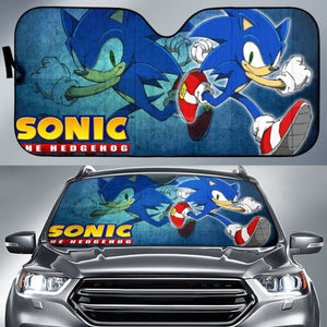 Sonic The Hedgehog Movie Car Sun Shades H033120 Universal Fit 225311 - CarInspirations