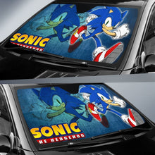 Load image into Gallery viewer, Sonic The Hedgehog Movie Car Sun Shades H033120 Universal Fit 225311 - CarInspirations