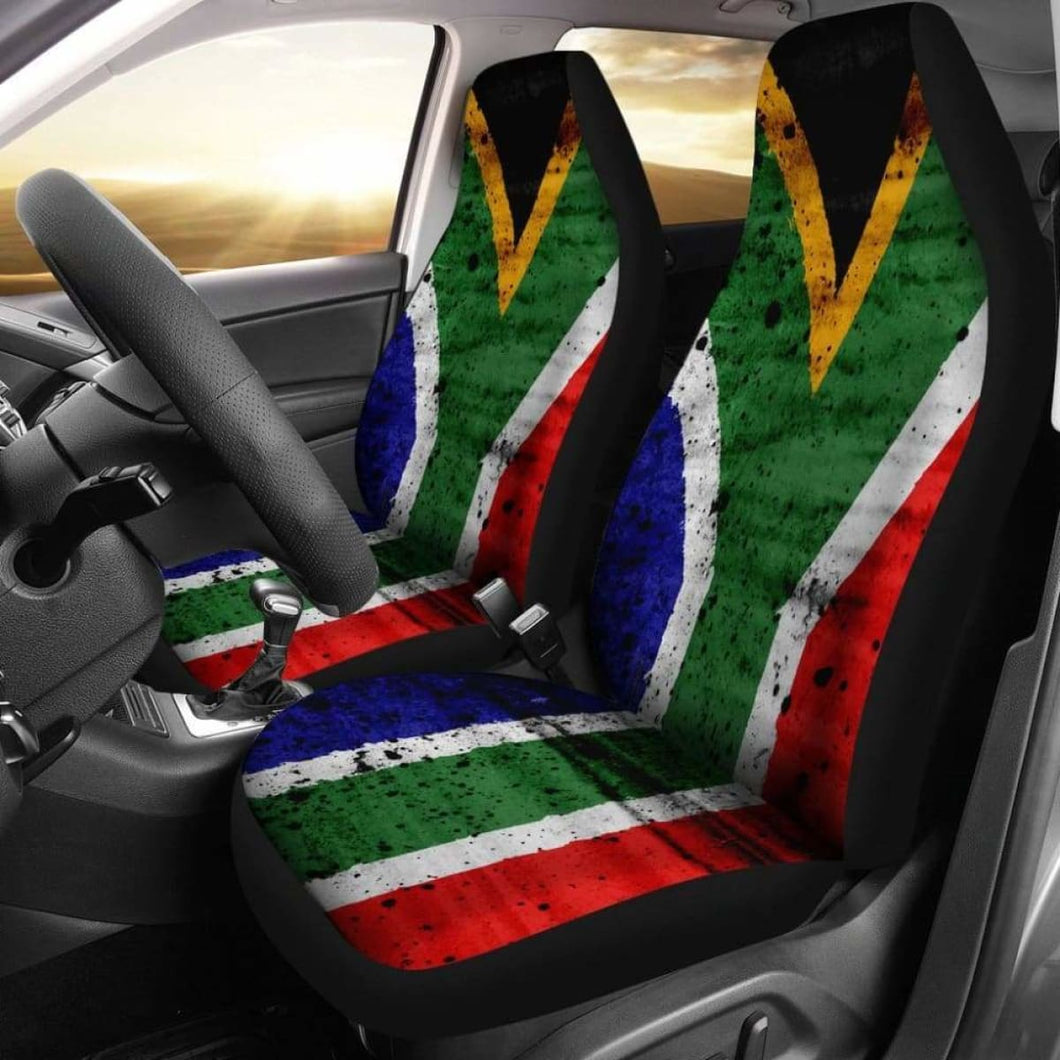 South Africa Flag Car Seat Covers 100421 Universal Fit - CarInspirations