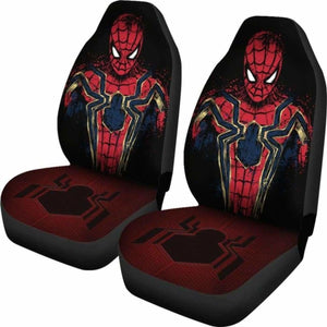 Spider-Man Car Seat Covers 2 Universal Fit 051012 - CarInspirations
