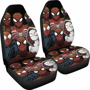 Spiderman Car Seat Covers 1 Universal Fit 051012 - CarInspirations