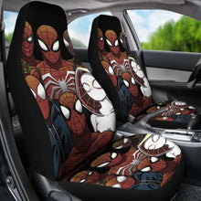 Load image into Gallery viewer, Spiderman Car Seat Covers 1 Universal Fit 051012 - CarInspirations
