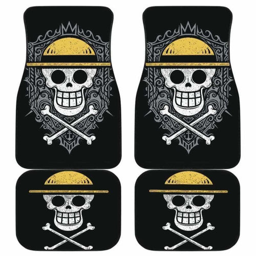 Straw Hat Pirates One Piece Car Floor Mats Universal Fit 051912 - CarInspirations