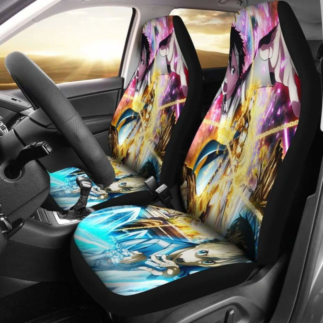 Sword Art Online Alicization Car Seat Covers Universal Fit 051012 - CarInspirations