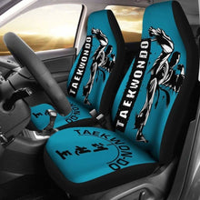 Load image into Gallery viewer, Taekwondo Car Seat Covers Universal Fit 051012 - CarInspirations