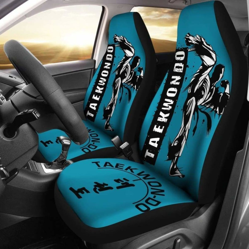 Taekwondo Car Seat Covers Universal Fit 051012 - CarInspirations