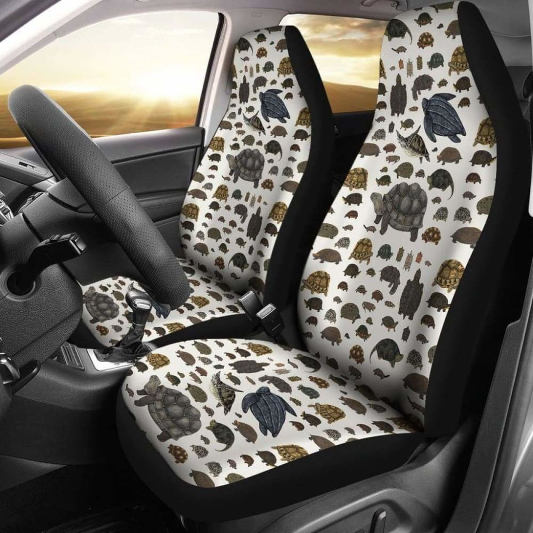 Testudines Car Seat Cover 234929 Universal Fit - CarInspirations