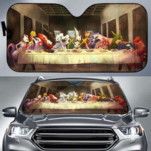Load image into Gallery viewer, The Last Pokemon Supper Car Sun Shades 918b Universal Fit - CarInspirations