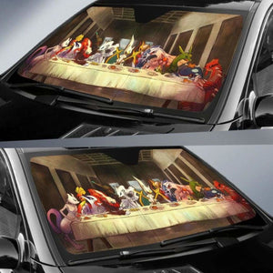 The Last Pokemon Supper Car Sun Shades 918b Universal Fit - CarInspirations