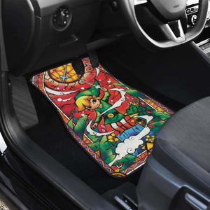 The Legend Of Zelda Car Floor Mats 34 Universal Fit - CarInspirations