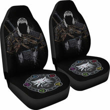 Load image into Gallery viewer, The Witcher Badass Car Seat Covers Universal Fit 051012 - CarInspirations