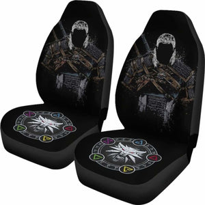 The Witcher Badass Car Seat Covers Universal Fit 051012 - CarInspirations