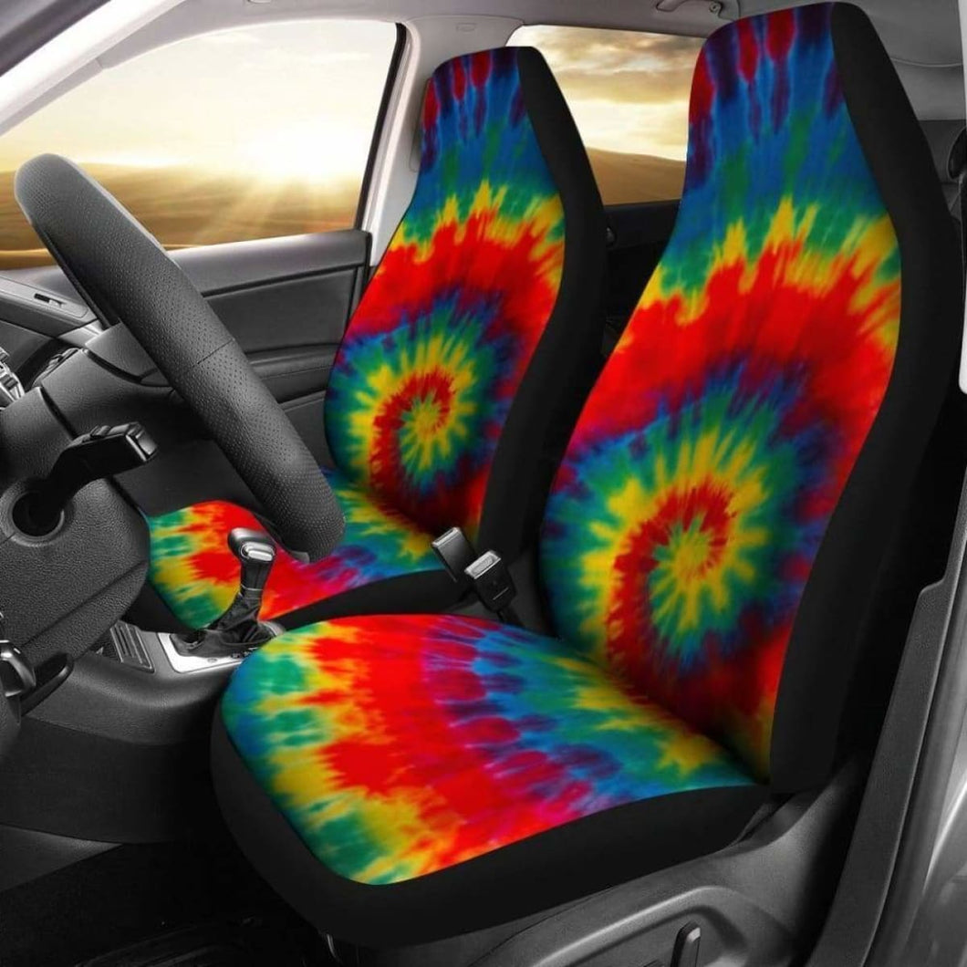 Tie Dye Color Car Seat Covers Universal Fit 051012 - CarInspirations