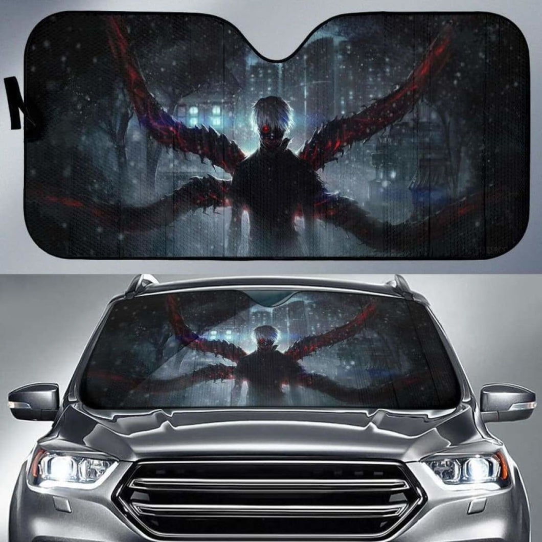 Tokyo Ghoul Auto Sun Shades 918b Universal Fit - CarInspirations