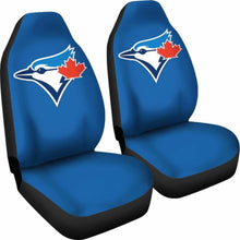 Load image into Gallery viewer, Toronto Blue Jays Car Seat Covers 100421 Universal Fit - CarInspirations