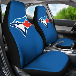 Toronto Blue Jays Car Seat Covers 100421 Universal Fit - CarInspirations