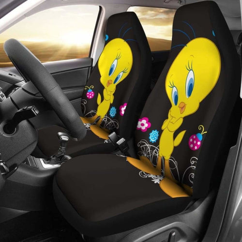 Tweety Bird Car Seat Covers Universal Fit 051012 - CarInspirations