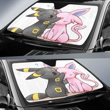 Load image into Gallery viewer, Umbreon Espeon Pokemon Car Sun Shades 918b Universal Fit - CarInspirations