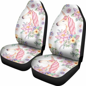Unicorn Car Seat Covers 3 Universal Fit 051012 - CarInspirations