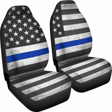 Load image into Gallery viewer, Usa Flag Custom Car Seat Covers (Set Of 2) Universal Fit 051012 - CarInspirations