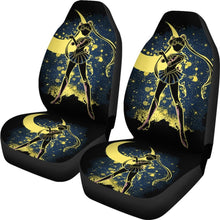 Load image into Gallery viewer, Usagi Tsukino Shadow Car Seat Covers Sailor Moon Manga H031620 Universal Fit 225311 - CarInspirations