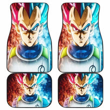 Load image into Gallery viewer, Vegeta Blue And God Saiyan Dragon Ball Car Floor Mats Universal Fit 051912 - CarInspirations