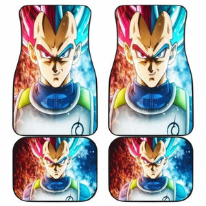 Vegeta Blue And God Saiyan Dragon Ball Car Floor Mats Universal Fit 051912 - CarInspirations