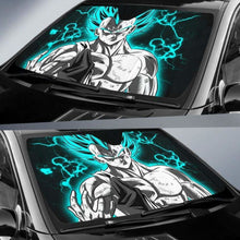 Load image into Gallery viewer, Vegeta Blue Car Sun Shades 918b Universal Fit - CarInspirations