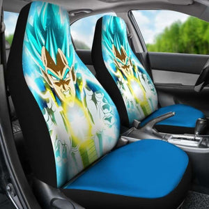 Vegeta Dragon Ball Car Seat Covers Universal Fit 051312 - CarInspirations