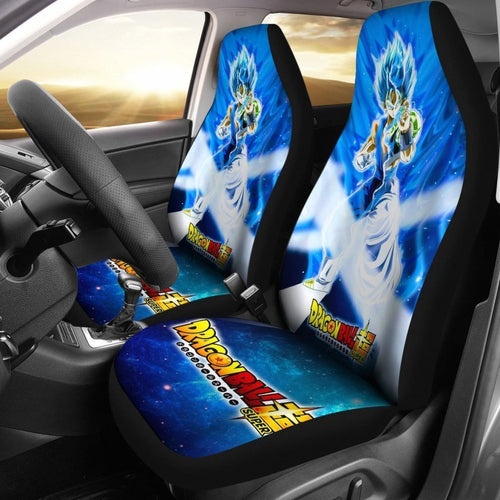 Vegito & Gogeta Dragon Ball Car Seat Covers Lt02 Universal Fit 225721 - CarInspirations