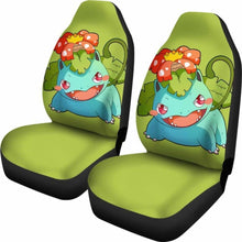 Load image into Gallery viewer, Venusaur Pokemon Chibi Seat Covers 101719 Universal Fit - CarInspirations