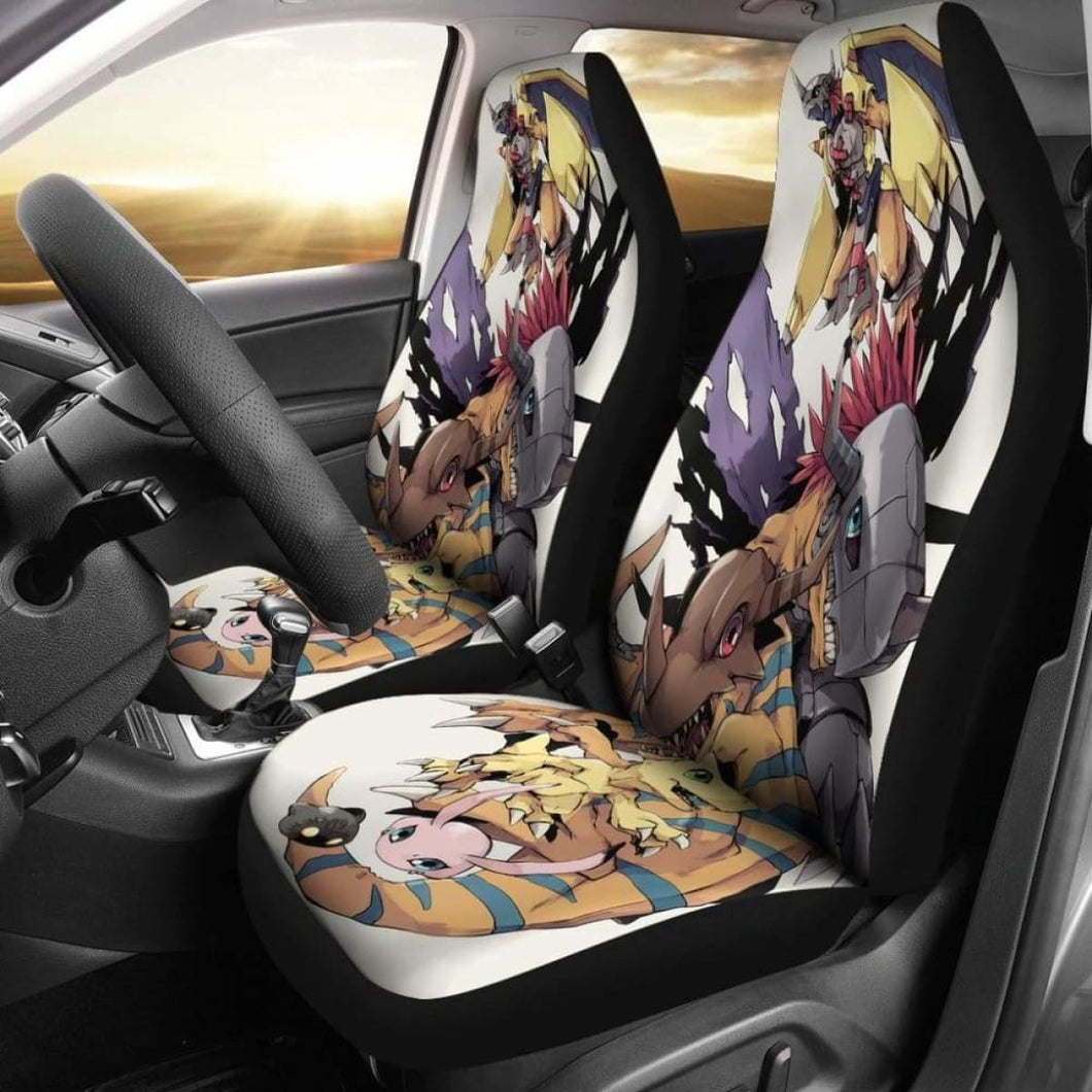 Wargreymon Evolution Car Seat Covers Universal Fit 051012 - CarInspirations