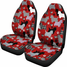 Load image into Gallery viewer, Westie Patterns Style Car Seat Covers Universal Fit 051012 - CarInspirations