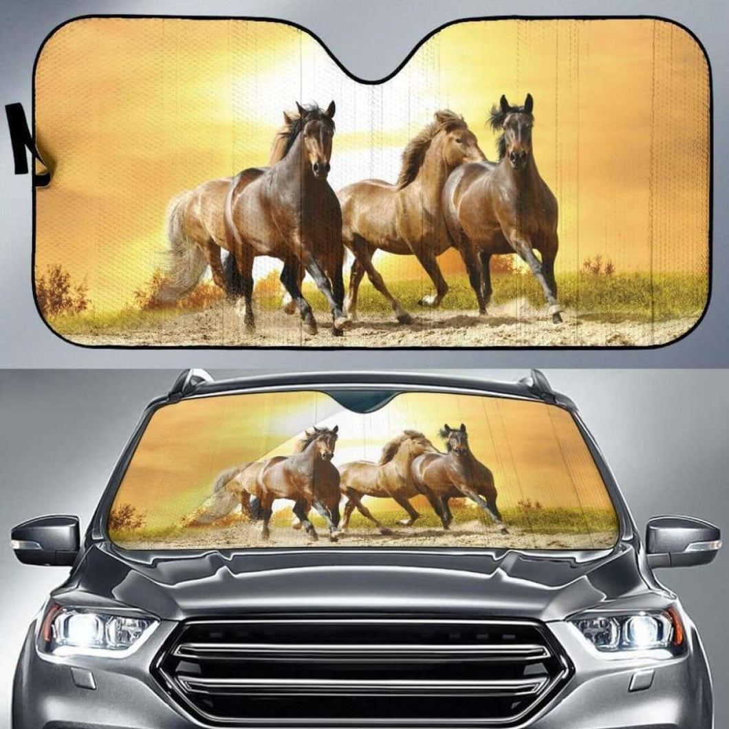 Wild Horse Car Sun Shades 918b Universal Fit - CarInspirations
