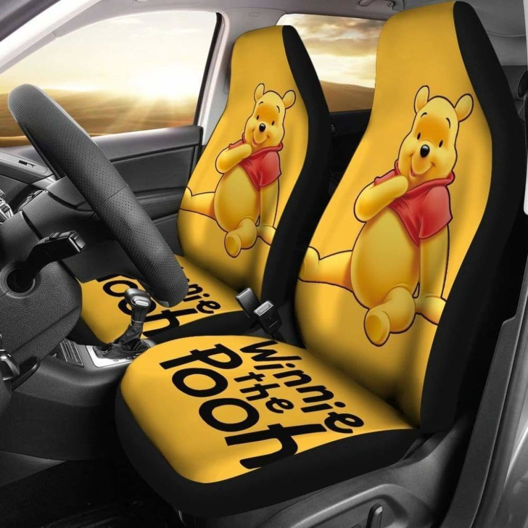 Winnie The Pooh Car Seat Cover Universal Fit 051012 - CarInspirations