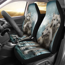 Load image into Gallery viewer, Wolves Car Seat Covers 100421 Universal Fit - CarInspirations
