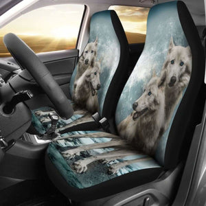 Wolves Car Seat Covers 100421 Universal Fit - CarInspirations