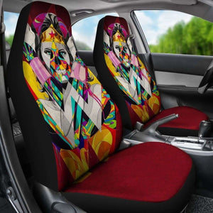Wonder Woman Car Seat Covers Universal Fit 051012 - CarInspirations