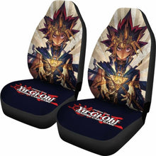 Load image into Gallery viewer, Yu Gi Oh Anime Seat Covers 101719 Universal Fit - CarInspirations