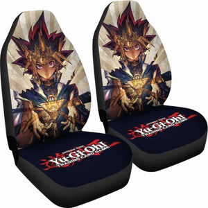 Yu Gi Oh Anime Seat Covers 101719 Universal Fit - CarInspirations