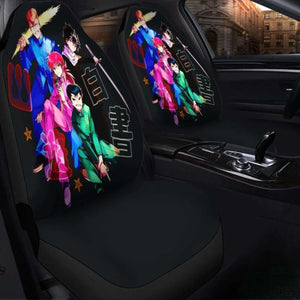 Yu Yu Hakusho Seat Covers 101719 Universal Fit - CarInspirations