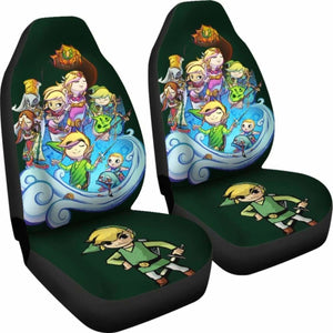 Zelda Link Car Seat Covers Universal Fit 051012 - CarInspirations
