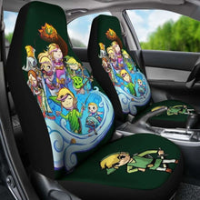 Load image into Gallery viewer, Zelda Link Car Seat Covers Universal Fit 051012 - CarInspirations