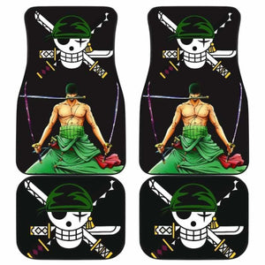 Zoro One Piece Car Floor Mats Universal Fit 051912 - CarInspirations