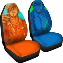 Load image into Gallery viewer, Zoro Sanji One Piece Car Seat Covers Universal Fit 051312 - CarInspirations