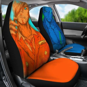 Zoro Sanji One Piece Car Seat Covers Universal Fit 051312 - CarInspirations